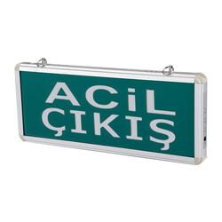 TAROKS - Acil Çıkış Armatürü Ledli Exit Çıkış CT-9176
