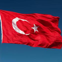 SEÇKİN - Alpaka Türk Bayrağı 100X150 cm