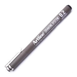 ARTLINE - Artline Çizim Kalemi 232 Siyah 0.2