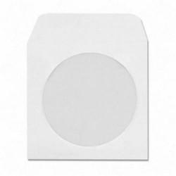 DOĞAN - Asil Cd Zarfı 12,5x12,5 Beyaz 90 gr Pencereli 500'lü 3001