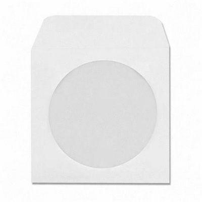 Asil Cd Zarfı 12,5x12,5 Beyaz 90 gr Pencereli 500'lü 3001