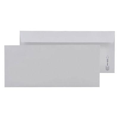 Asil Diplomat Zarf 10,5x24 Beyaz 110 gr Düz 500'lü 1004
