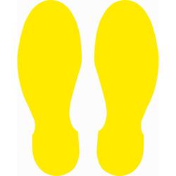 TAROKS - Ayak İzi Yer Etiketi 30 cm Sarı