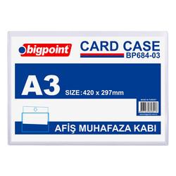 BIGPOINT - Bigpoint Afiş Muhafaza Kabı A3 Şeffaf Bp684-03
