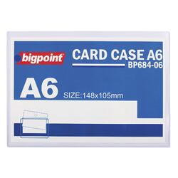 BIGPOINT - Bigpoint Afiş Muhafaza Kabı A6 Şeffaf Bp684-06