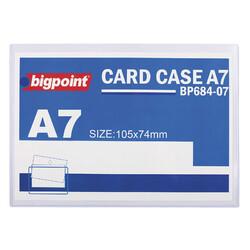 BIGPOINT - Bigpoint Afiş Muhafaza Kabı A7 Şeffaf Bp684-07