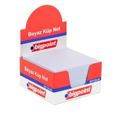 BIGPOINT - Bigpoint Küp Notluk Beyaz 8X8 BP129-00