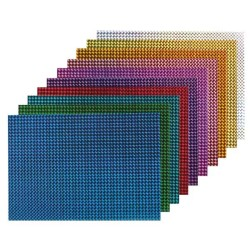 BIGPOINT - Bigpoint Metalik Renkli Karton 10'lu 50X70 BP706-50