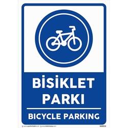 TAROKS - Bisiklet Parkı Uyarı Levhası U10113