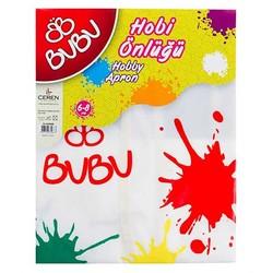 BU-BU - Bu-Bu Boyama Önlüğü 6-8 Yaş Su Geçirmez