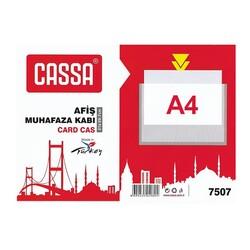 CASSA - Cassa Afiş Muhafaza Kabı A4 Şeffaf 7507