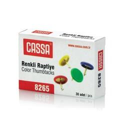 CASSA - Cassa Raptiye Pvc Kaplı - Renkli 8265