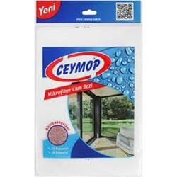 CEYMOP - Ceymop Mikrofiber Cam Bezi 26x36 Tekli TBG18