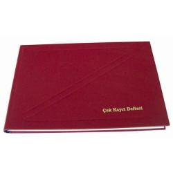 DİLMAN - Dilman Çek Kayıt Defteri 17 x 24 192 Yaprak
