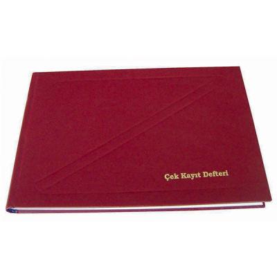 Dilman Çek Kayıt Defteri 17 x 24 192 Yaprak