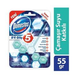 DOMESTOS - Domestos Wc Blok Çamaşır Suyu Katkılı 5 Li