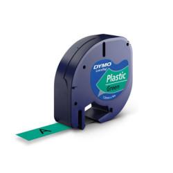 DYMO - Dymo Şerit Let.Plastik Yeşil 12 mm X 4 m 91204