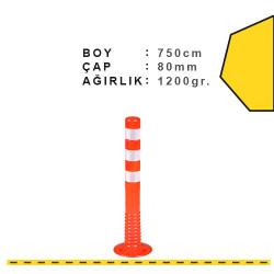 ÜSTÜN A.Ş. - Esnek Şerit Ayırıcı Delinatör 750 mm, X Ø:80 Tr2501