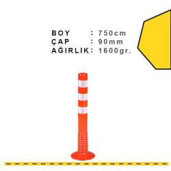 ÜSTÜN A.Ş. - Esnek Şerit Ayırıcı Delinatör 750 mm, X Ø:90 Tr2515