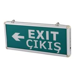 TAROKS - Acil Çıkış Armatürü Ledli Exit Çıkış Sağ Sol CT-9166