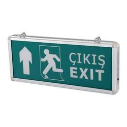 TAROKS - Acil Çıkış Armatürü Ledli Exit Çıkış Yukarı CT-9174