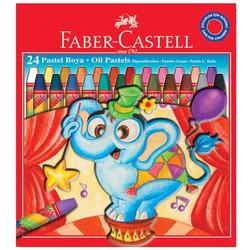FABER CASTELL - Faber Castell Pastel Boya Red Line Karton Kutu Köşeli 24 Renk