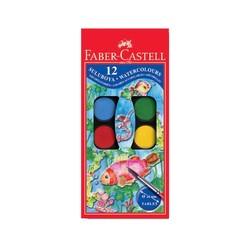 FABER CASTELL - Faber Castell Sulu Boya Küçük Boy 12 Renk
