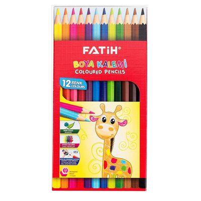 Fatih Kuru Boya 12 Renk Tam Boy 33112