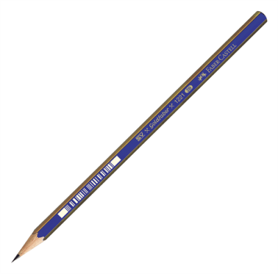 Faber Castell Dereceli Kurşun Kalem 1221 5H