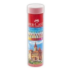 FABER CASTELL - Faber Castell Kuru Boya Kalemi Redline 12 Renk Tüp