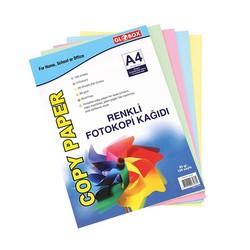 GLOBOX - Globox Renkli Fotokopi Kağıdı 100 Lü