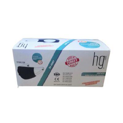 Hg Cerrahi Maske Meltblown 3 Katlı 50li Yeşil