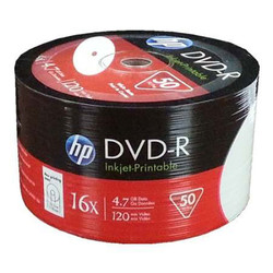 HP - Hp DVD-R 4,7 GB 120 Min 16 X 50 li