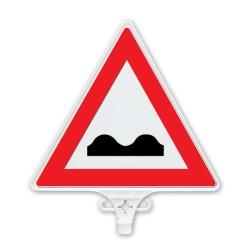 ÜSTÜN A.Ş. - Kasisli Yol Uyarı Levhası Çift Yön Tr2806