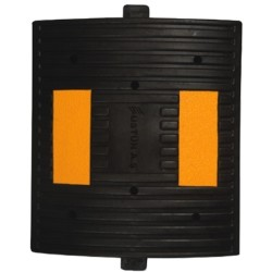 ÜSTÜN A.Ş. - Kauçuk Hız Kesici 2 Reflektörlü 300mm Siyah Tr9006