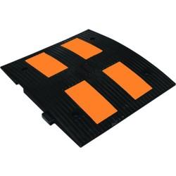 - Kauçuk Hız Kesici 4 Reflektörlü 500mm Siyah Tr9002