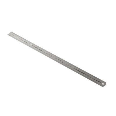Kraf Çelik Cetvel 50 cm İnch Ölçülü 550G