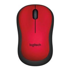 LOGITECH - Logitech Kablosuz Mouse Kırmızı M220 Silent Red Nano