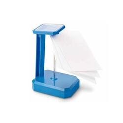 MAS - Mas Not Kağıdı Tutucu İğneli Plastik 805 Mavi