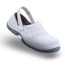 MEKAP - Mekap İş Ayakkabısı Sandalet Slipper Beyaz Atlas Atp-92