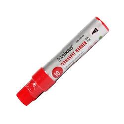 MIKRO - Mikro Permanent Markör Jumbo 6010 Kırmızı