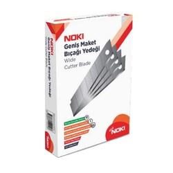 NOKİ - Noki Maket Bıçağı Yedeği Geniş 18 mm Kod:6500