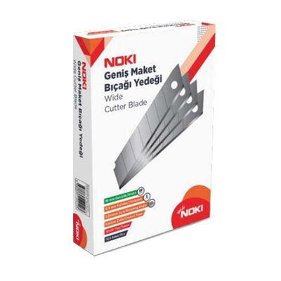 Noki Maket Bıçağı Yedeği Geniş 18 mm Kod:6500
