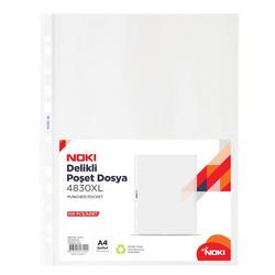 Noki Poşet Dosya Şeffaf XL 100'lü A4 4830