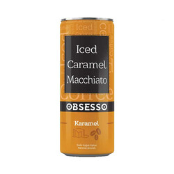 LİPTON - Obsesso Iced Coffe Caramel Macchiato 250 ml 12'li