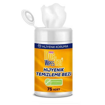 Only Duster Wipes Antibakteriyel Islak Mendil 75'li