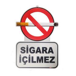 TAROKS - Sigara İçilmez Levhası Özel Kesim 25x35 cm