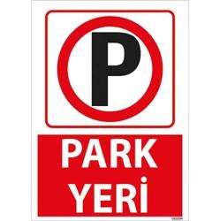 TAROKS - Park Yeri Uyarı Levhası U01034