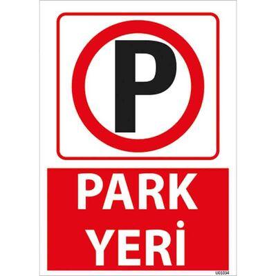 Park Yeri Uyarı Levhası U01034