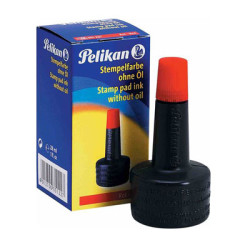 PELİKAN - Pelikan Istampa Mürekkebi 30 cc Kırmızı